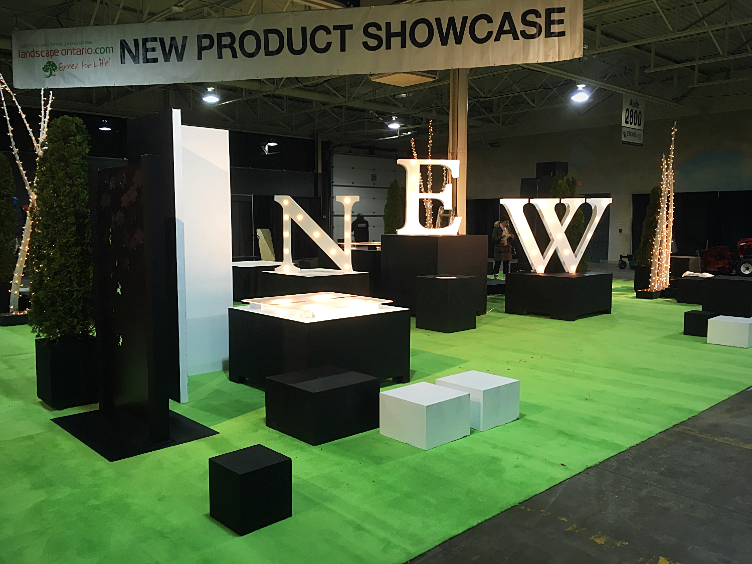New Product Showcase Display