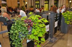 11.hanging planter boxes