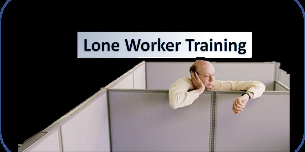 Lone Worker Training - in Schools