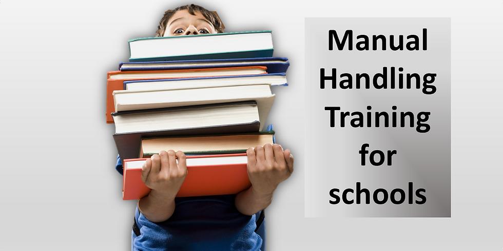 Manual Handling Training - in Schools