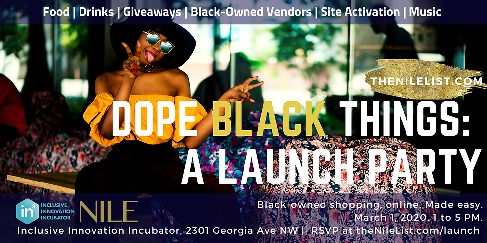Dope Black Things: A Launch Party!