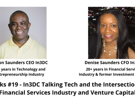 In3Talks #19: Talking Tech and the Intersection with Financial Services Industry and Venture Capital
