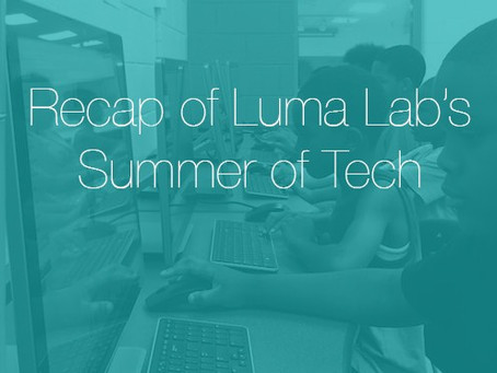 Luma Lab: Not Good Bye, but See you later...