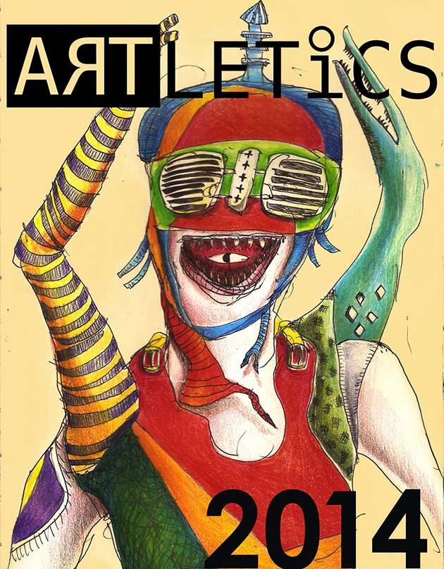 Artletics 2014 De La Salle Lipa sportsfest poster