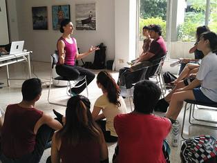 Creative Movement and Environmental Talk at Vargas Museum