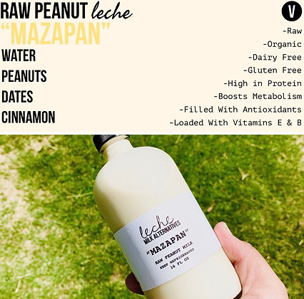 Mazapan Peanut Milk