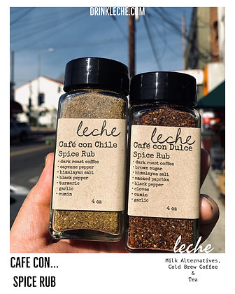 Cafe con Spice Rub