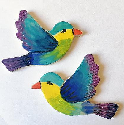 סט 2 ציפורים
