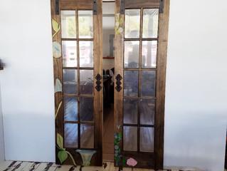 Morning Glory Barn Doors - Tutorial