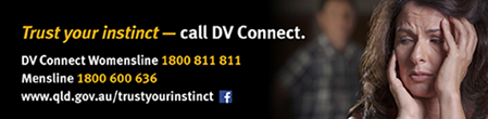 DV Connect. Trust your instinct and call.