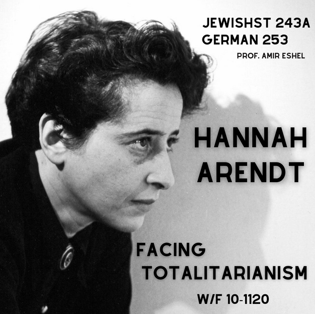 Hannah Arendt: Facing Totalitarianism