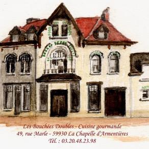 """Ici on aime l'Angélus…Restaurant: """"Les Bouchées Doubles"""""""