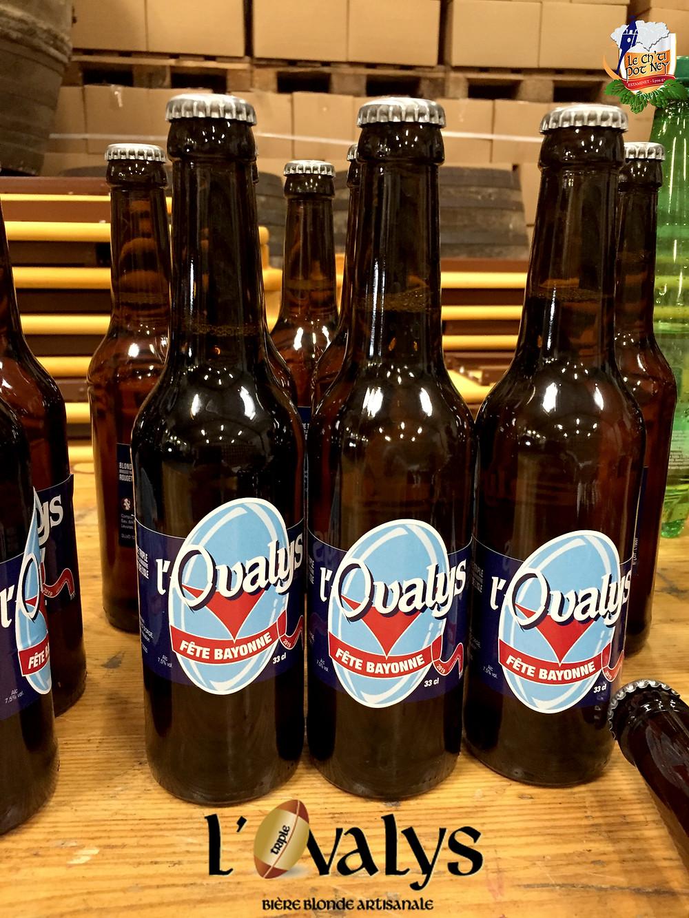 L'Ovalys, une bière artisanale.