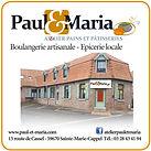 """Pains et pâtisseries """"PAUL & MARIA"""""""