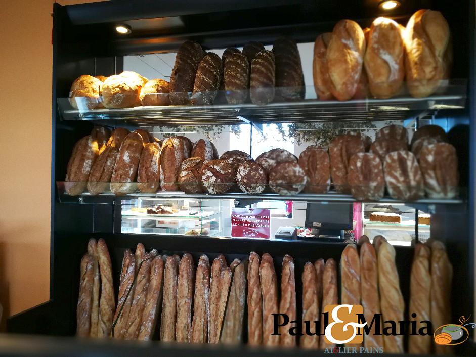 Notre panetière s'enrichit de nouveaux pains bios !