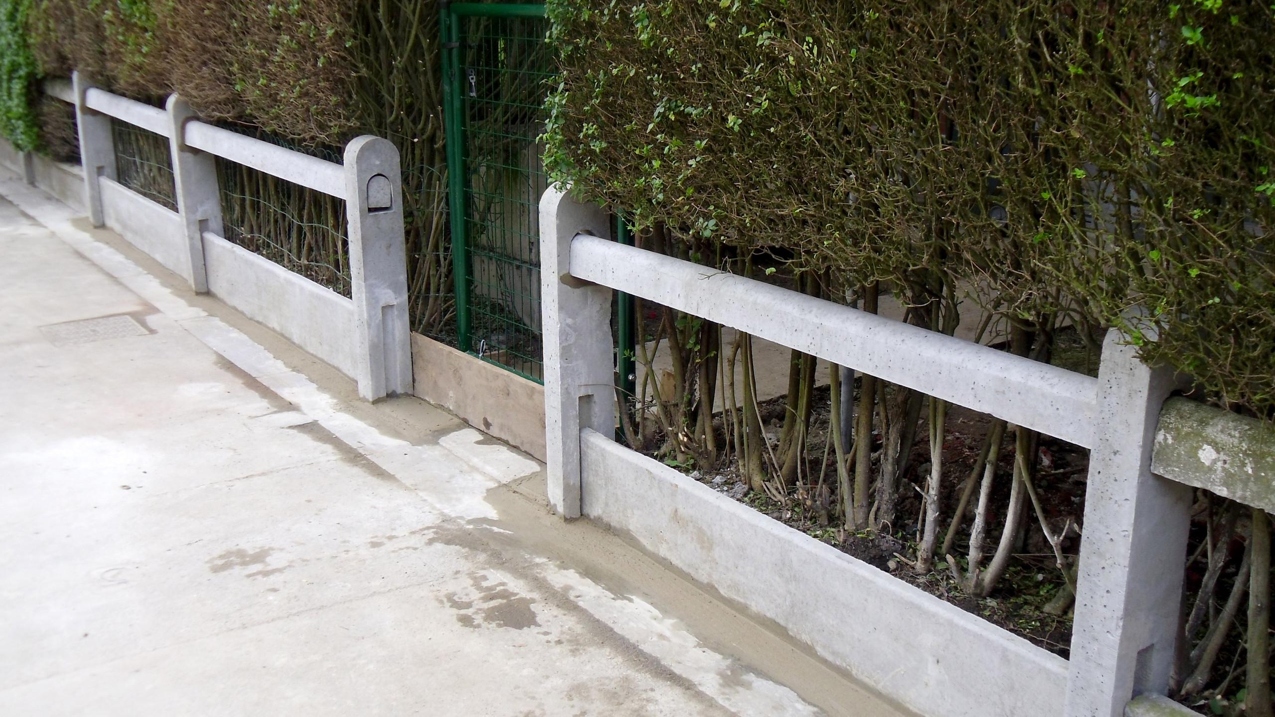 Réparation decClôture :