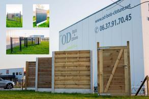 Notre Show-room de clôtures :