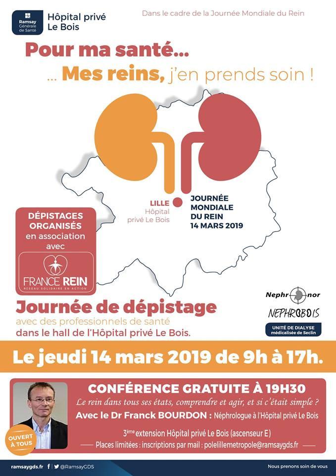 Le rein dans tous ses états - Conférence Dr Bourdon