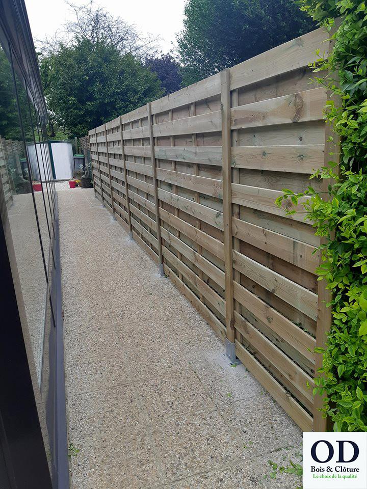 OD Bois & Clôture conseille, organise et installe votre aménagement extérieur