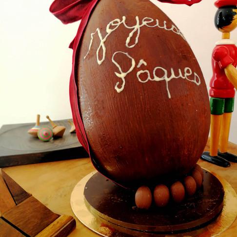 Gagnez l'œuf de Pâques XXL :