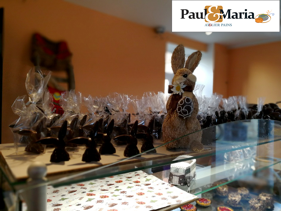"""Luc OLIVIER, Chocolatier - Pâtisser, prépare dans notre Atelier """"Paul & Maria"""" vos délices pour les papilles des petits et des grands. Choisissez et remplissez votre panier."""
