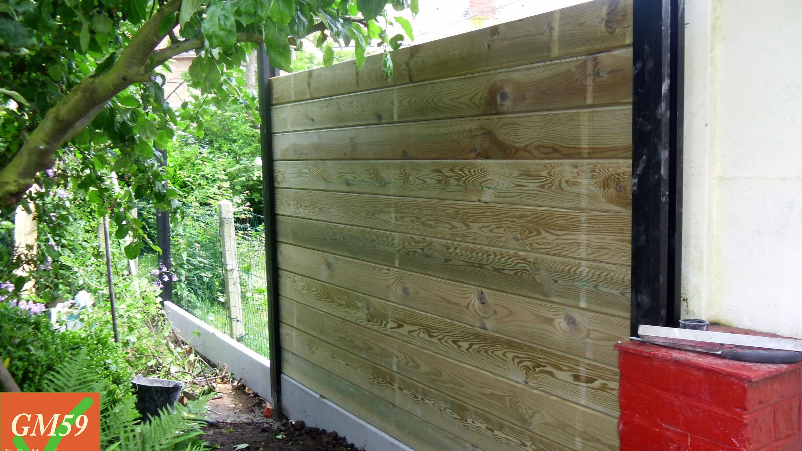 Votre nouvelle clôture :