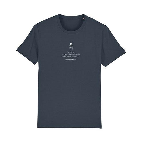 """T-Shirt """"Papa, war Rassismus eine Krankheit?"""" (unisex / vegan)"""
