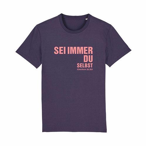 """T-Shirt """"Sei immer du selbst"""" (unisex / vegan)"""