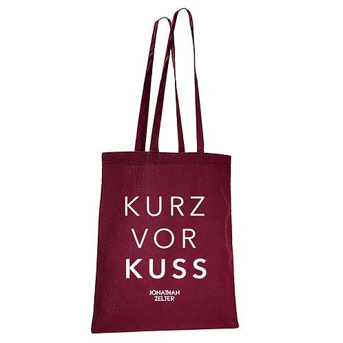 """Jutebeutel """"Kurz vor Kuss"""""""