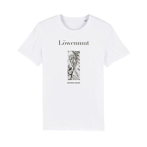 "T-Shirt ""Löwenmut"" (unisex / vegan)"