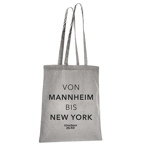 """Jutebeutel """"VonMannheim bis New York"""""""