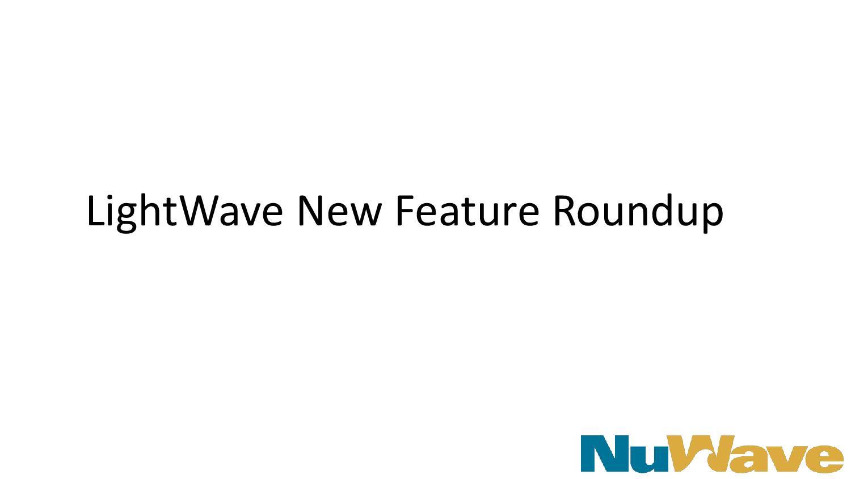LightWave New Features Roundup