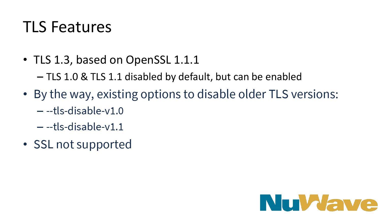 TLS Features