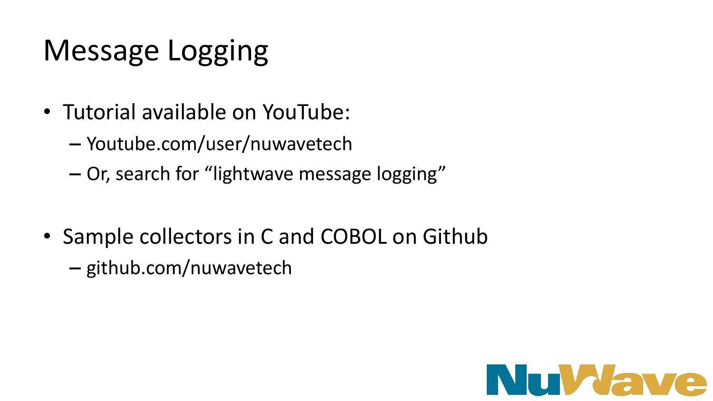 Message Logging