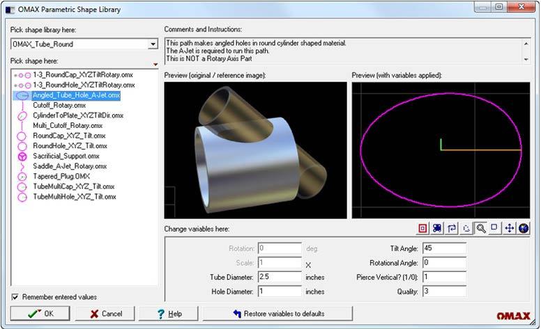 parametirc-shapes-tool