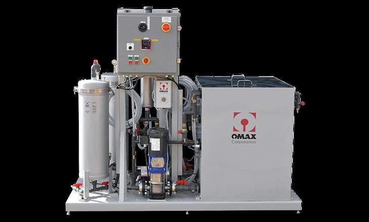 OMAX水リサイクルシステム