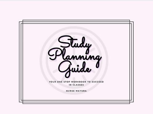 Study Planning Workbook