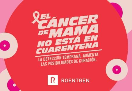Roentgen realizará 100 Tomosíntesis sin costo en el mes de la lucha contra el cáncer de mama.