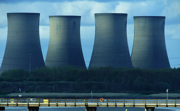 landscape-photography-of-cooling-tower-1