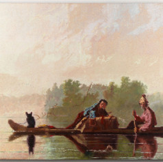 Fur Traders (after George Caleb Bingham