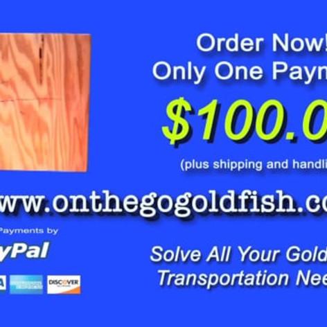 Infomercial: On-The-Go-Goldfish