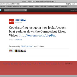 Float Couch News