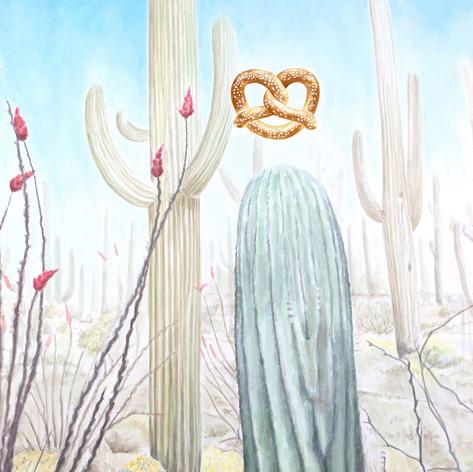Desert Pretzel