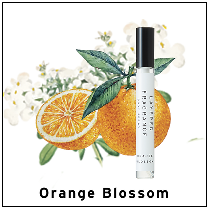 Body Spray 10ml - Orange Blossom