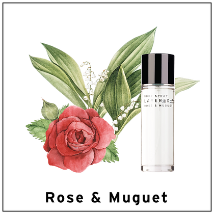 Body Spray 100ml - Rose & Muguet