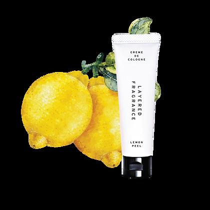 Creme de cologne - Lemon Peel