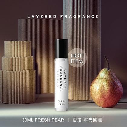 Body Spray 30ml - Fresh Pear