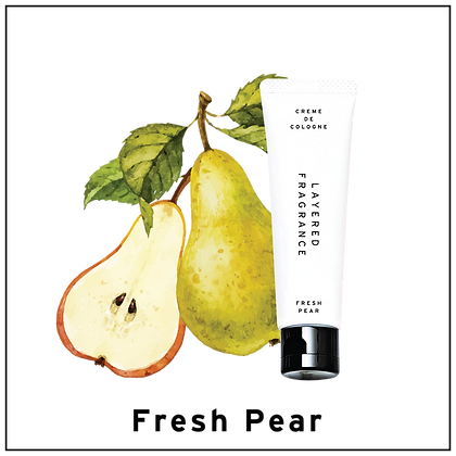 Creme de cologne - Fresh Pear
