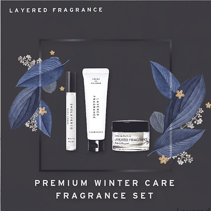 Premium Winter Care Fragrance Set