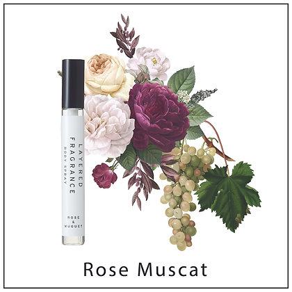 Body Spray 10ml - Rose Muscat